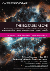 The Ecstasies Above