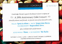 20th Anniversary Gala Concert