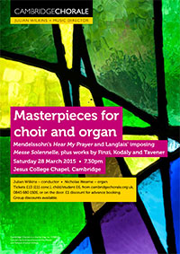 Masterpieces for choir and organ