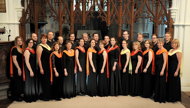 Cambridge Chorale in St Vigor's Church, Fulbourn